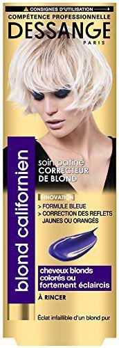 Dessange – Blond Californien Soin Patine Correcteur De Blond Pour Cheveux Blonds, Colorés Ou Fortement Eclaircis – 125 ml: Fortement…