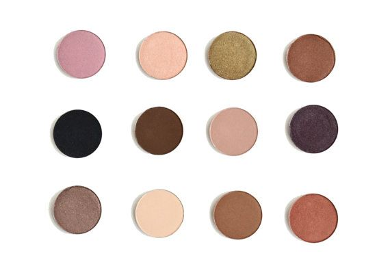 Organic eyeshadows, organic makeup, eyeshadow palette, mineral makeup cosmetics