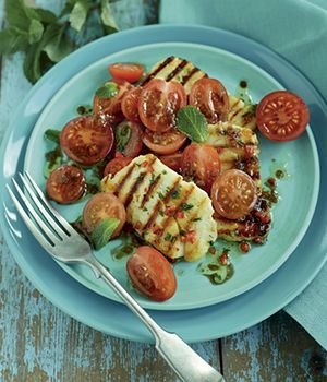 Best braai salads Halloumi-tomato-and-mint-salad