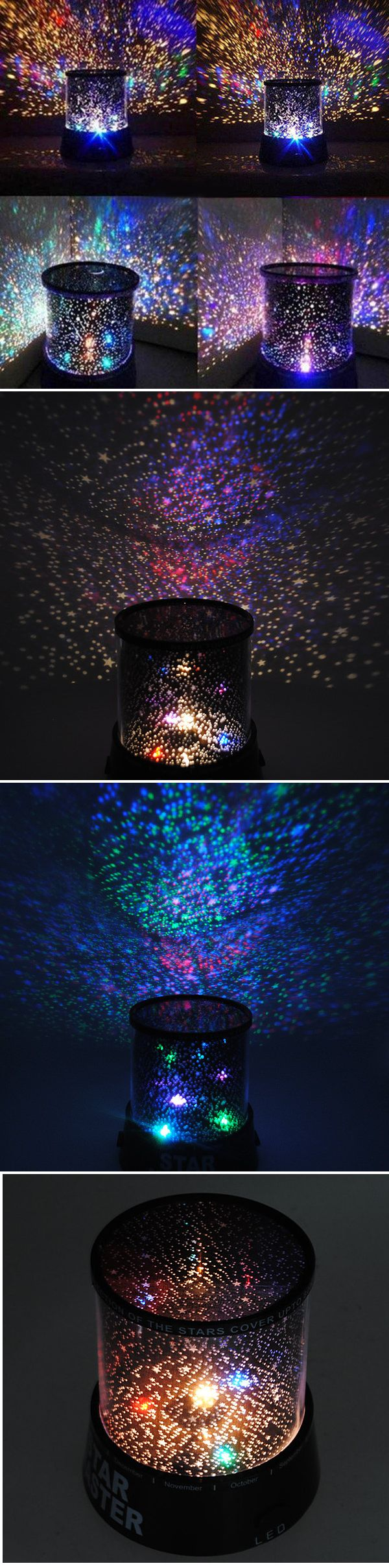 US$4.99 Amazing Laser Projector Lamp Sky Star Cosmos Night Light