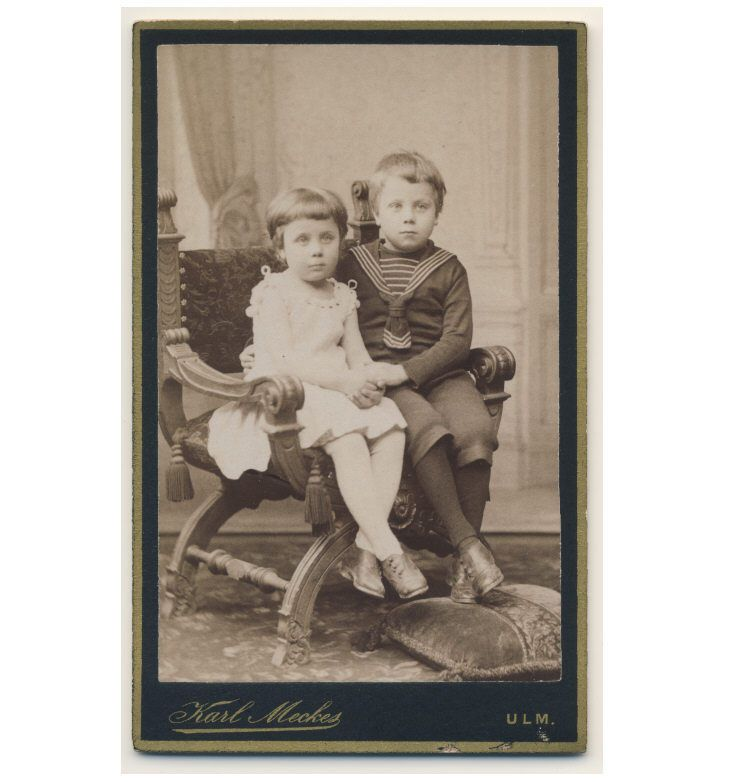 CUTE LITTLE BOY and GIRL sweet pose c1890. (any number of photos). | eBay!