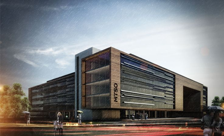 Mersin chamber of commerce-industry building competition winning proposal