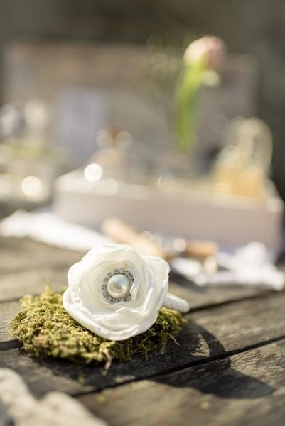Armband für Brautjungfer, Zubraut von MY bouquet auf DaWanda.com