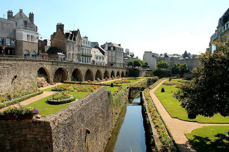 Jardins des remparts de Vannes, Camping Bihan, Damgan, Bretagne Sud