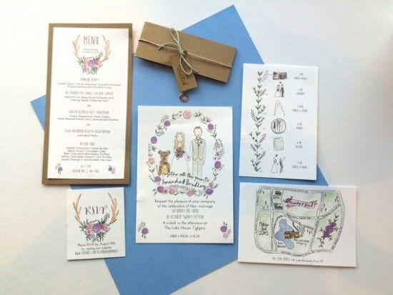 custom-illustrated-invitation-etsy