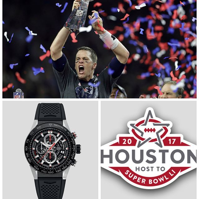 One of the most popular brands on #chrono24 is #tagheuer according to our #infographic (link in bio) - It is also Tom Brady's brand of choice. Congrats to the #newenglandpatriots on their latest #superbowl win btw  #sb #sbli #tombrady #tagheuercarrera #patriots #football  #watchnerd #watchesofinstagram #horology #wis #watchoftheday #watches #watchporn #wristporn #wristgame #watchaddict #orologi #uhr #montre #haute #часы