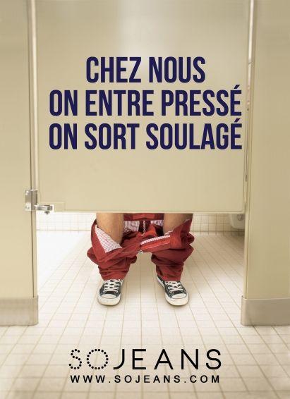 Chez Sojeans - Grand prix de l'affichage indoor