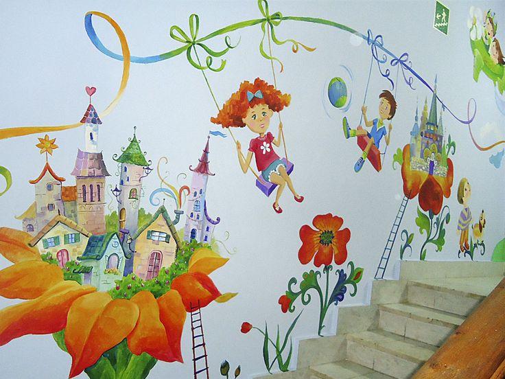 настенная роспись для детской - Поиск в Google