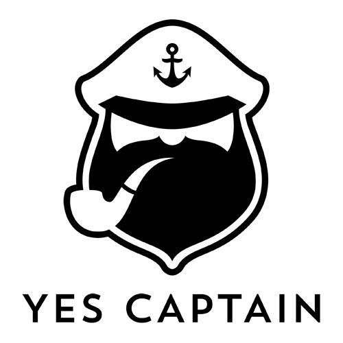 Yes Captain logo