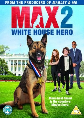 Max 2: White House Hero [DVD + Digital Download] [2017]