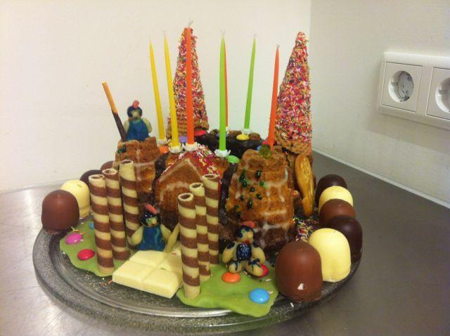 RmerKuchen  Kindergeburtstag  Kinder Kuchen und Geburt