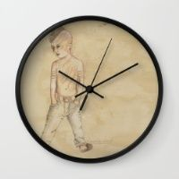 Eugene Wall Clock