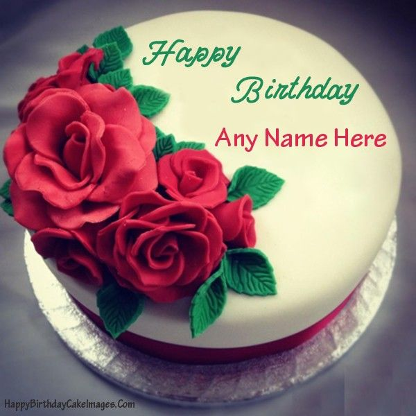 Birthday Cake For Girlfriend With Name Editor Happy Images