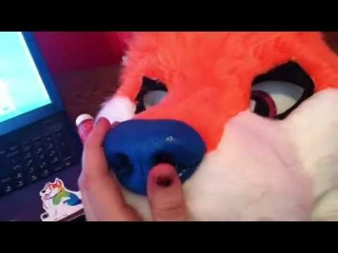how to shave a fursuit head - YouTube