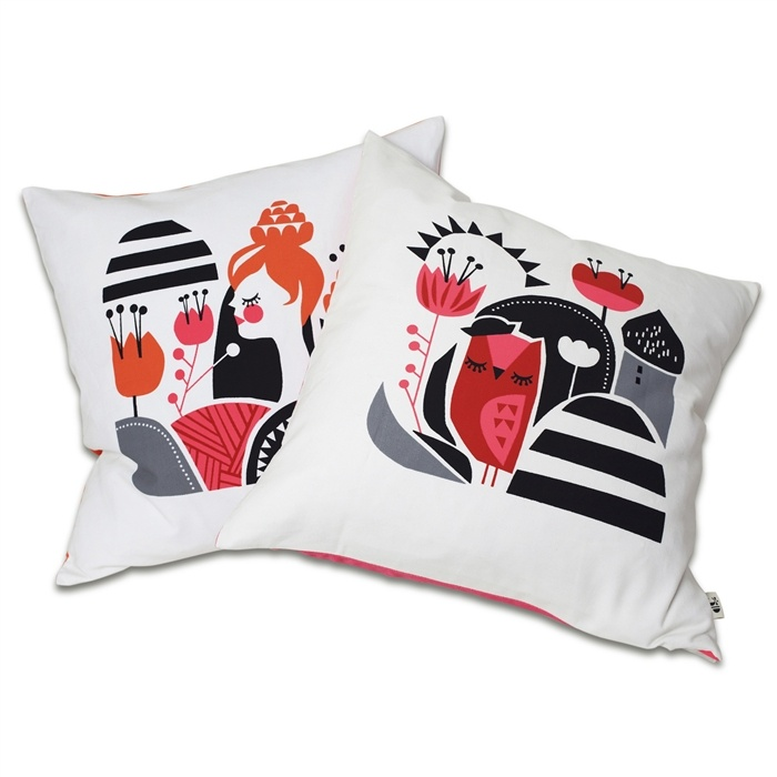 Woodland Cushion Collection   4 Designs