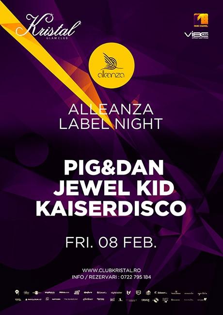 3 invitații pentru Pig & Dan și Kaiserdisco mâine în Kristal