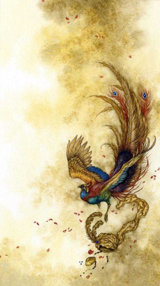 12 best luis ricardo falero images on pinterest 19th for Huma bird tattoo