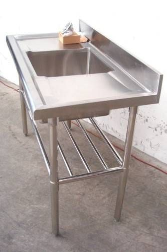 Commerical grade Stainless Steel Sink, single bowl (544000-122)