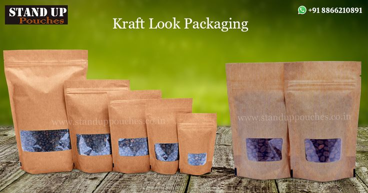 Kraft bags are suitable for packing many products and we have many kinds of bags that suit your needs such as: #ThreeSideseal, #sidegussetbags