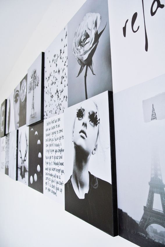 #DIY: Printed personal art and photography - #myIKEAbedroom