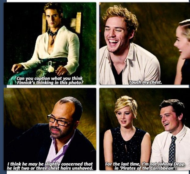 """""""What's Finnick thinking?"""" What do you say? Comment below!"""