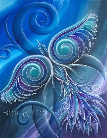Into the Night © Reina Cottier #painter #painting #art