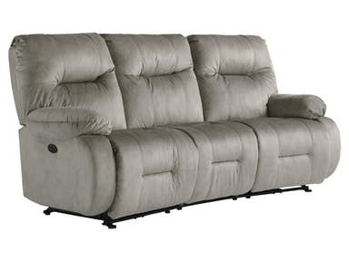 Best Home Furnishings Living Room Power Curved Motion Sofa. Conversation ...