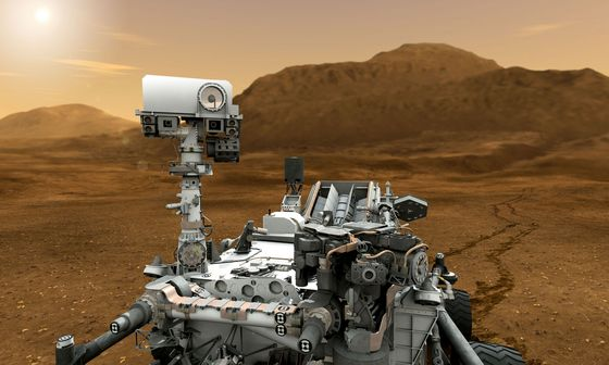 Curiosity Rover will land on Mars on August 5th, 2012