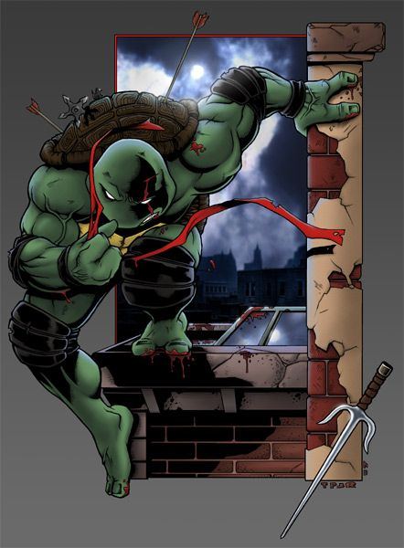 Raphael Defeat by TPollockJR.deviantart.com on @deviantART