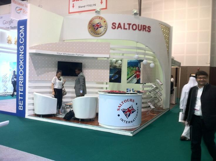Saltours Exhibition Stand ATM Dubai