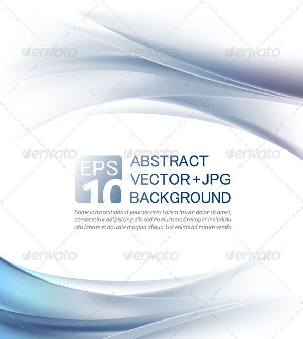 Abstract business background - Vector + jpg  #GraphicRiver          ABSTRACT BACKGROUNDS                      	 Abstract elegant horizontal wave backgrounds in blue and white colors, with a lot of space for a text. Great business backdrops for a company presentation, business card, company letterhead, corporate style elements, website design, etc. Beautifully detailed clean and clear business design.  	 Editable, scalable to any size! 100% vector .eps file + .high quality .jpg to download…