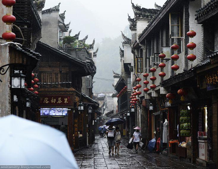 «Красная земля» Китая: проливной дождь в городе огненного Феникса - Smit_Smitty LJ