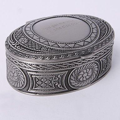 personnalisé millésime tutania boîte à bijoux ovale de 297760 2016 à €9.79