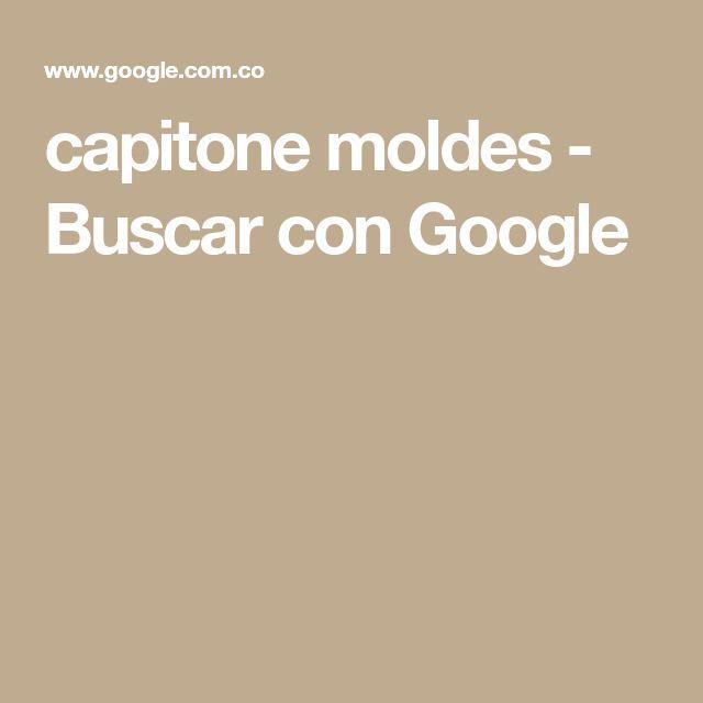 capitone moldes - Buscar con Google