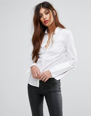 Sisley Double Collar Shirt