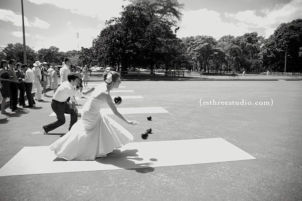 Lawn Games Perfect for a Summer Wedding | Intimate Weddings - Small Wedding Blog - DIY Wedding Ideas for Small and Intimate Weddings - Real Small Weddings