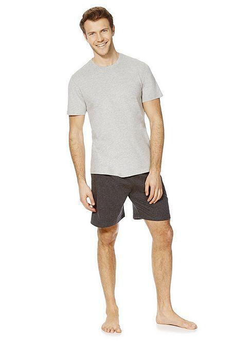 Tesco direct: F&F Marl Shorts Loungewear Set