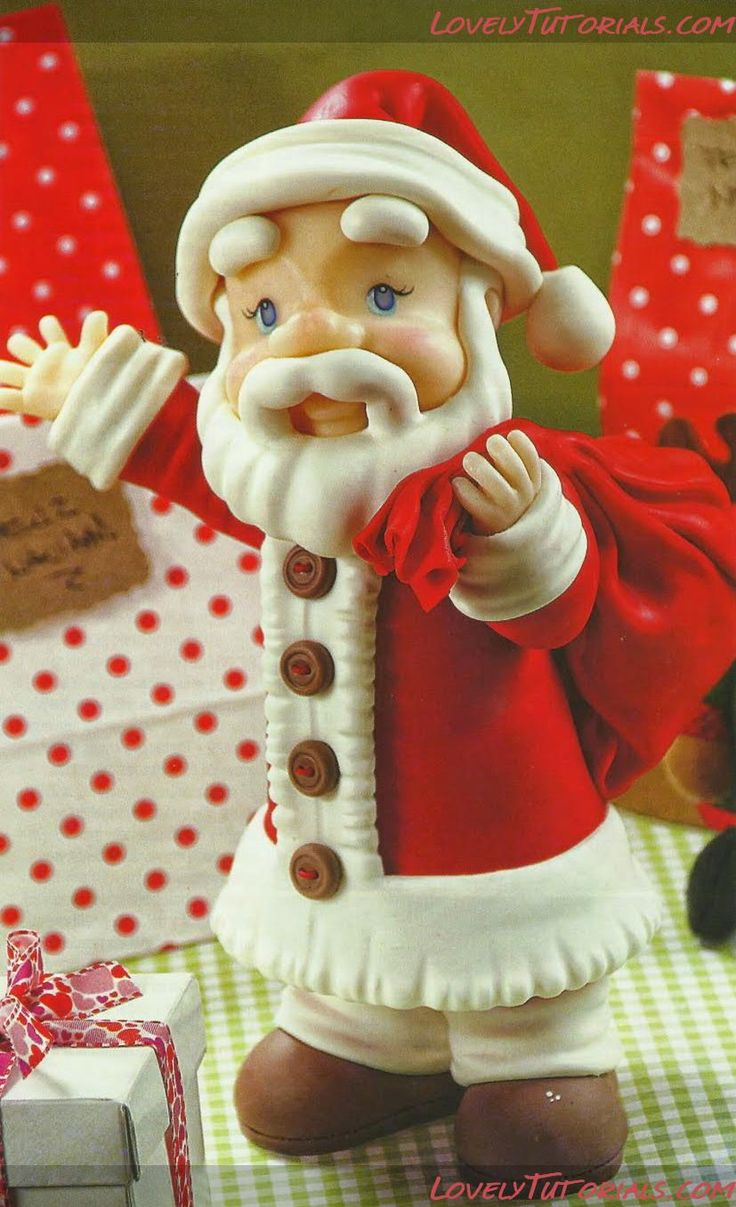 Cake Decorating Sculpting Figures : 333 best images about Masa Flexible y Navidad on Pinterest ...