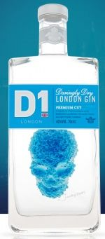 DJ Limbrey Distilling – D1 London Gin #packaging