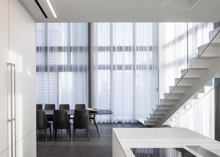 Pitsou Kedem combines four apartments to create penthouse
