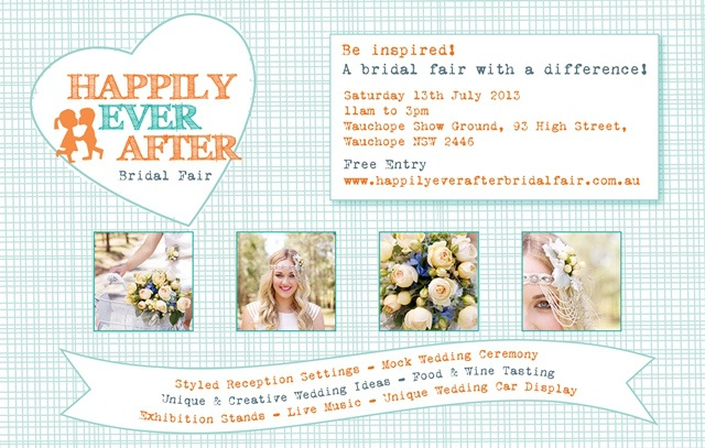 Happily Ever After Bridal Fair – Sat July 13th (promo shots)