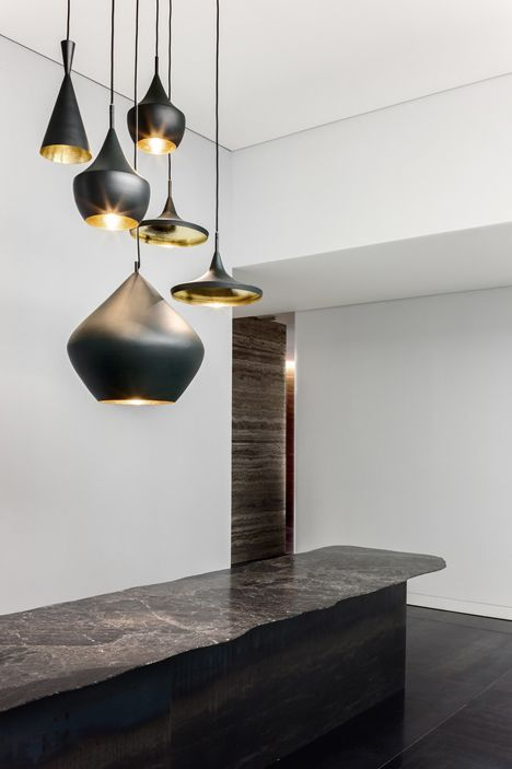 Beats light available at Property. Great installation! http://propertyfurniture.com/collection/lighting/beat-light-fat/