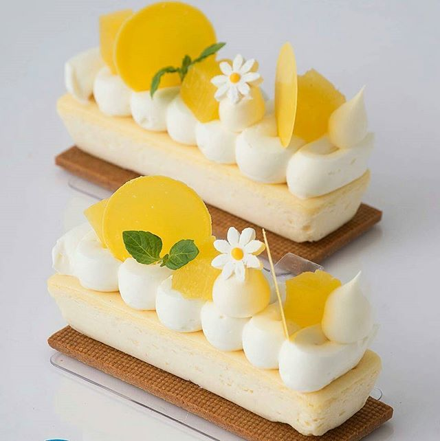 Coconut Cheesecake with Malibu compressed pineapple