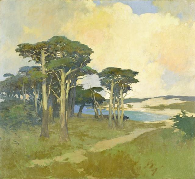 Arthur Frank Mathews Monterey Cypress California Los