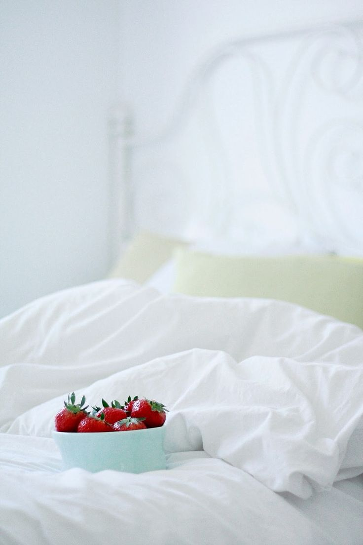 Søndag og jordbær