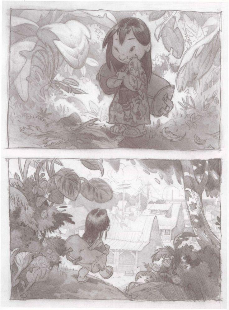 Lilo and Stitch concept art