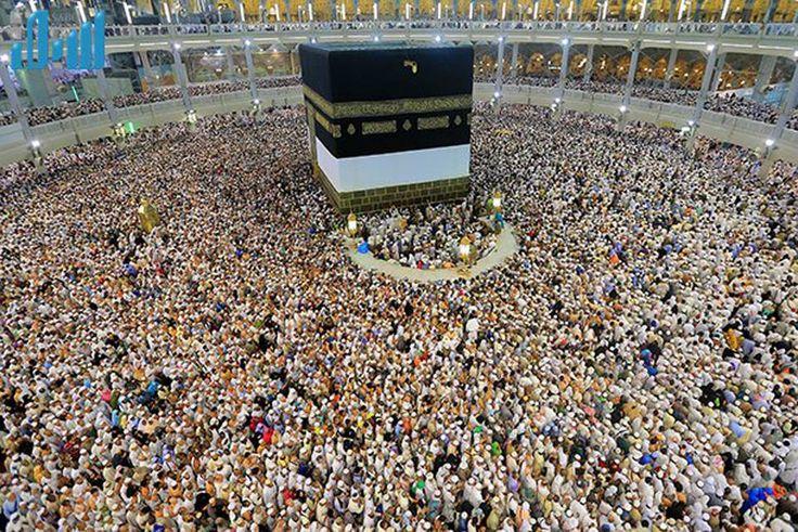 # Hac # umre # mekke # kabede mahşeri kalabalıkla tavaf www.bercesteturizm.com