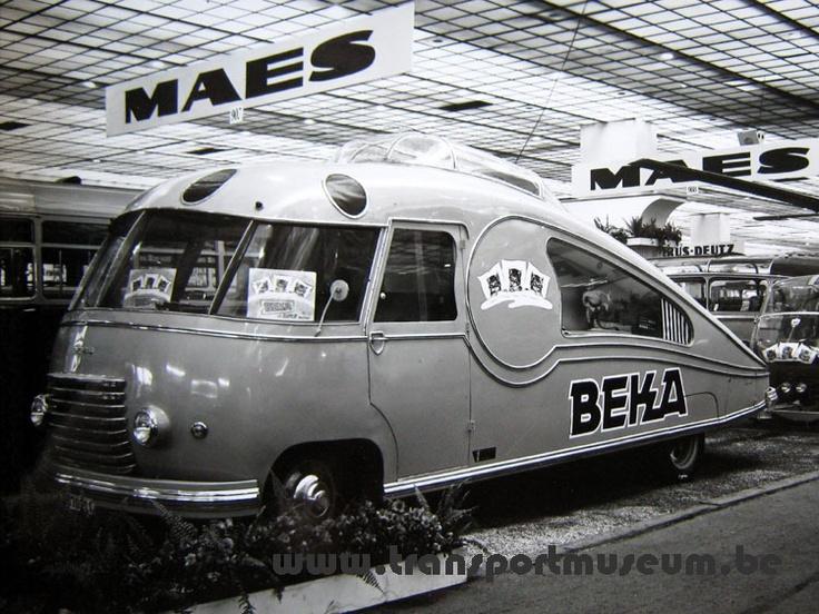 Atelier Louis Maes, jaren veertig, Antwerpen.
