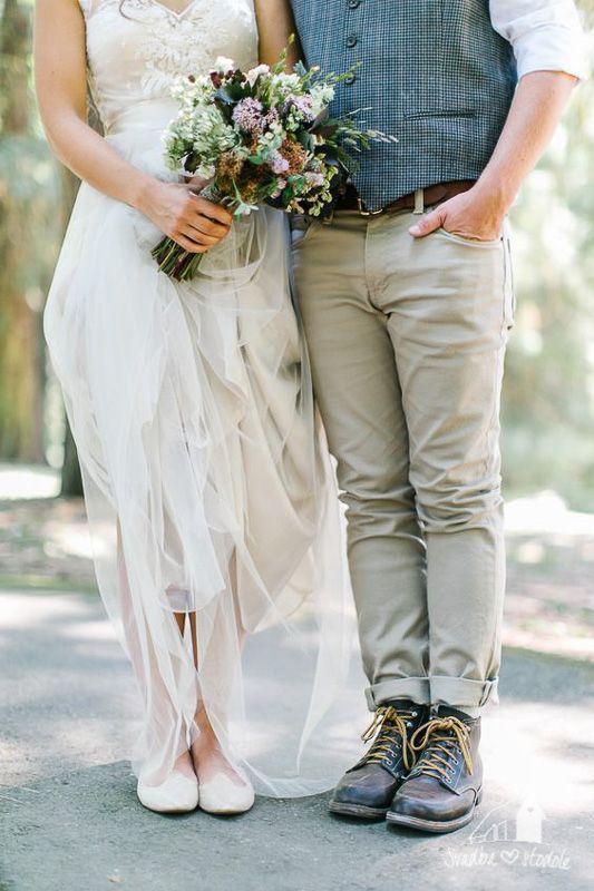 BOHO štýl, Svadba v stodole