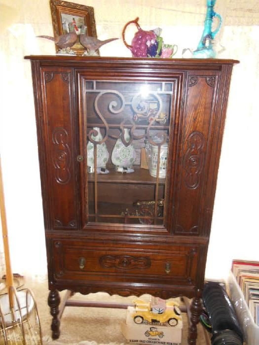 net antique china cabinet